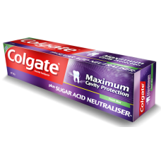 COLGATE MAXIMUM CAVITY PROTECTION 110G - FRESH MINT PLUS SUGAR ACID NEUTRALISER