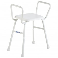 ASPIRE SHOWER STOOL WITH ARMS