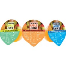 APPLE JUICE 185ML  LEVEL 1, 150 - MILDLY THICK BOX/24, (FCAJL1E)