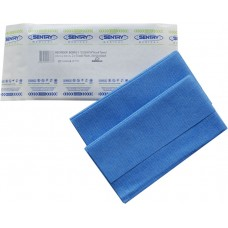 BLUE ESSENTIA HUCK TOWELS STERILE 1PC 43CM X 58CM (BCR010)