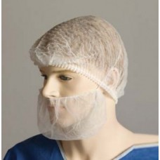 BEARD COVERS DOUBLE LOOP BLUE, BOX/100 (BNR22431)