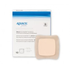 AQUACEL FOAM WOUND DRESSING ADHESIVE 12.5CM X 12.5CM, PACK/10 (CO420619)