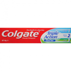 COLGATE 160G TOOTHPASTE TRIPLE ACTION ORIGINAL MINT