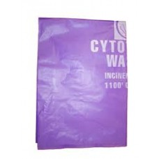 CYTOTOXIC PURPLE WASTE BAG 600MM X 840MM 70UM CARTON/200 (CW017)