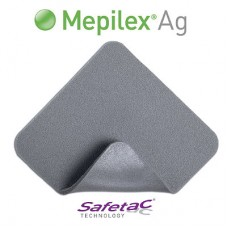 MEPILEX AG WOUND DRESSING 10CM X 20CM, PACK/5 (287210)