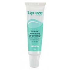 LIP-EZE PEPPERMINT LIP OINTMENT, 15G TUBE (LIP03321F)