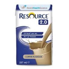 RESOURCE 2.0 COFFEE 237ML, BOX/24 (12358619)