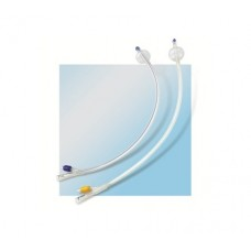 FOLEY CATHETER, SILICON, 2-WAY, 40CM 20FR 5-10ML, EACH (UR011004)