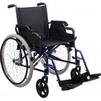 WHEELCHAIR THUASNE CLASSIC DF+ 51CM SEAT SOLID REAR AND FRONT TYRES (W5600550512)